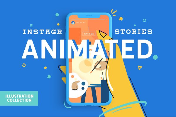 Social Media Templates: Wilson's Creative Corner - Animated Instagram Stories