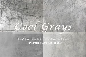 Cool Grays Textures