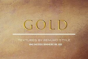 Gold Metal Textures