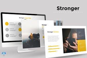 Stronger - Keynote Template