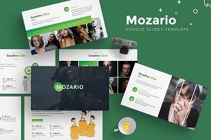 Mozario - Google Slides Template