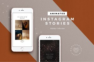 ANIMATED Holiday Instagram Stories