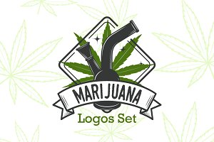 Marijuana Logos Bundle