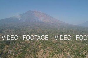 mountain landscape Agung volcano