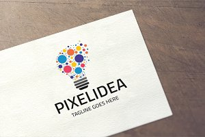 Pixelidea Logo