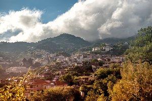 View of Agros village