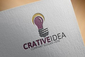 Creative Idea Logo