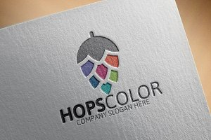 Hops Color Logo