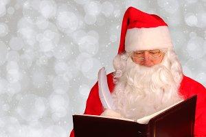 Santa Claus Naughty and Nice Book