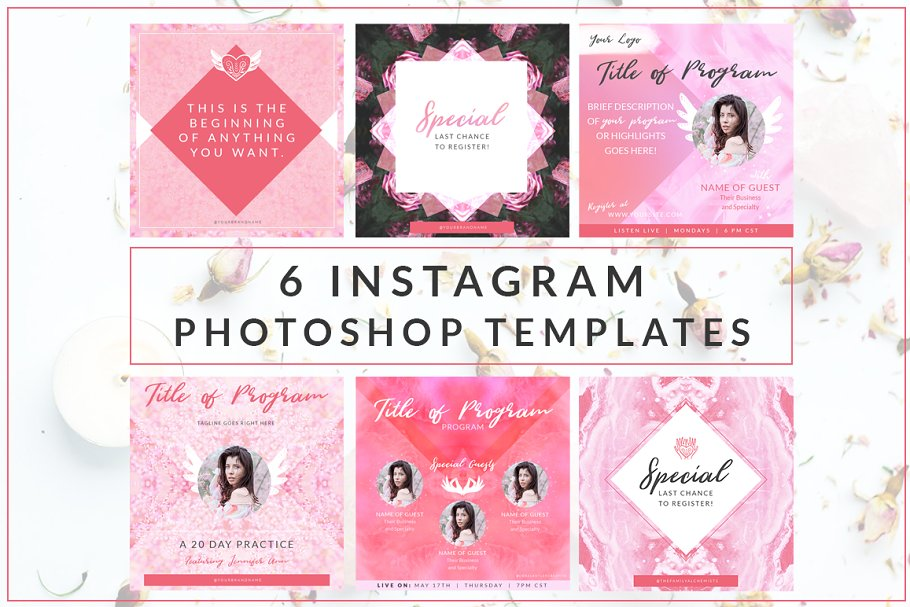 Instagram Branded Templates Vol. 5