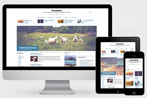 Broadsheet - Newspaper Theme