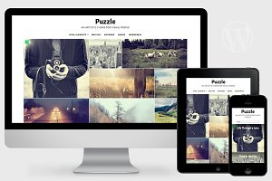 Puzzle - Responsive WordPress Theme