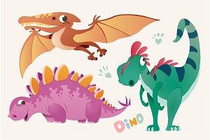Cute Dino Clipart