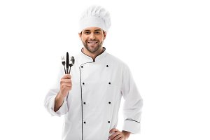 young male chef