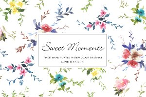 Flower Clip Art - Sweet Moments