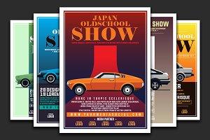 Vintage Car Show Poster