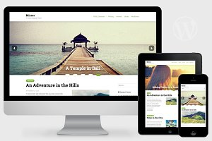 Mirror - WordPress Photo Theme