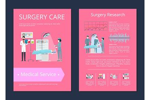 Surgery Care Medical Service Vector
