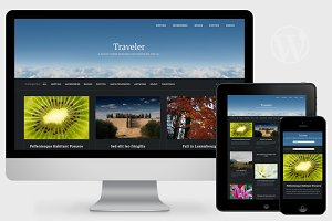 Traveler - Visual WordPress Theme