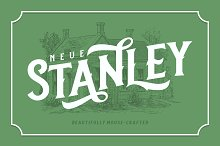 Neue Stanley  by  in Display Fonts