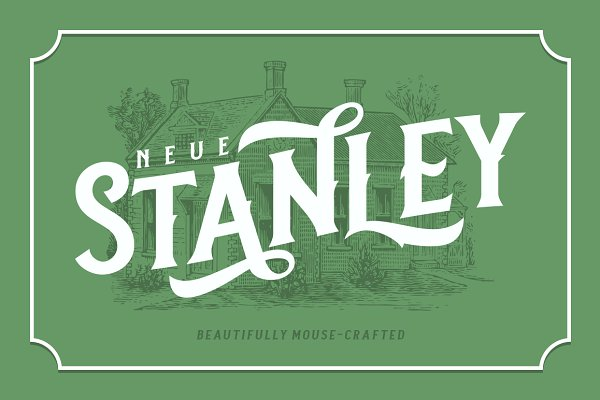Display Fonts: Twicolabs Fontdation - Neue Stanley