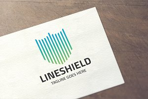 Line Shield Logo