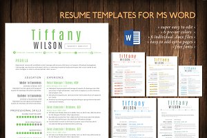Simple 2 pages Word resume