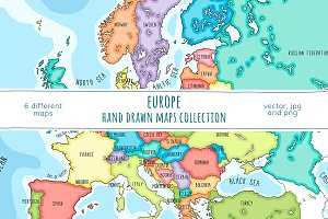 Europe Maps Collection