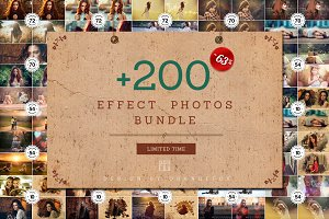 + 200 Effect Photos Bundle
