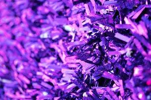New year purple decorations backgrou