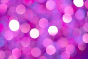 Dramatic pink bokeh background