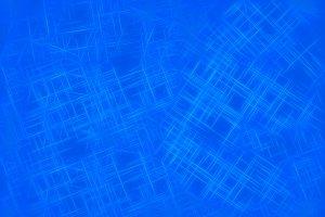 White lines on blue illustration bac
