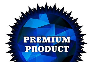 Premium Product label
