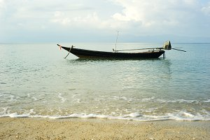 Boat in the sea. Thailand