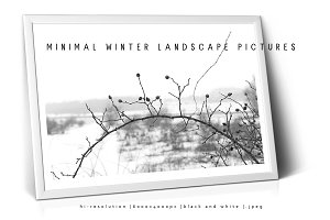 Minimal Winter Landscape pictures