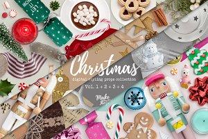 Bundle / Christmas Scene Creators