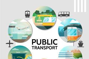 Public transport round concept