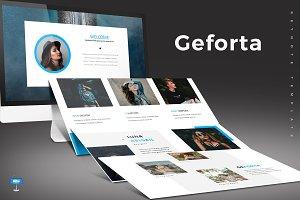 Geforta - Keynote Template