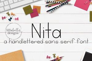 Nita  - a Sans Serif Font