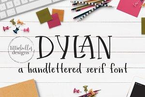 Dylan - A Handwritten Serif Font