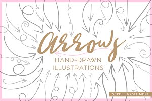 Arrow Hand Drawn Illustrations