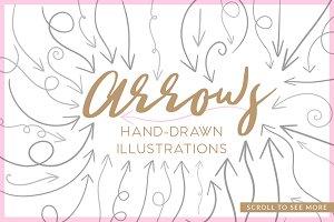 Arrow Hand Drawn Illustrations