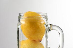 Two Lemon Still Life