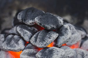 Hot Charcoal (Vertical)