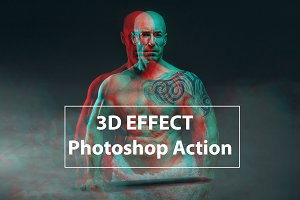 3D Effect - Photo Shop Action