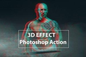 3D Effect - Photo Shop Action