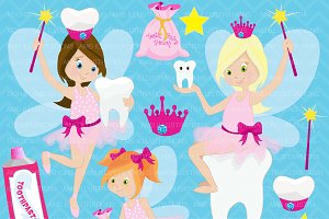Tooth Fairy Clipart AMB-930