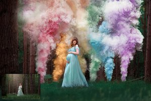 Colorscape - Smoke Bomb Overlays