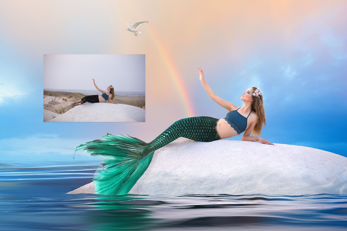 Maiden Tails - Mermaid Tail Overlays