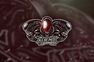 AlienXenomorph - Mascot &Esport Logo